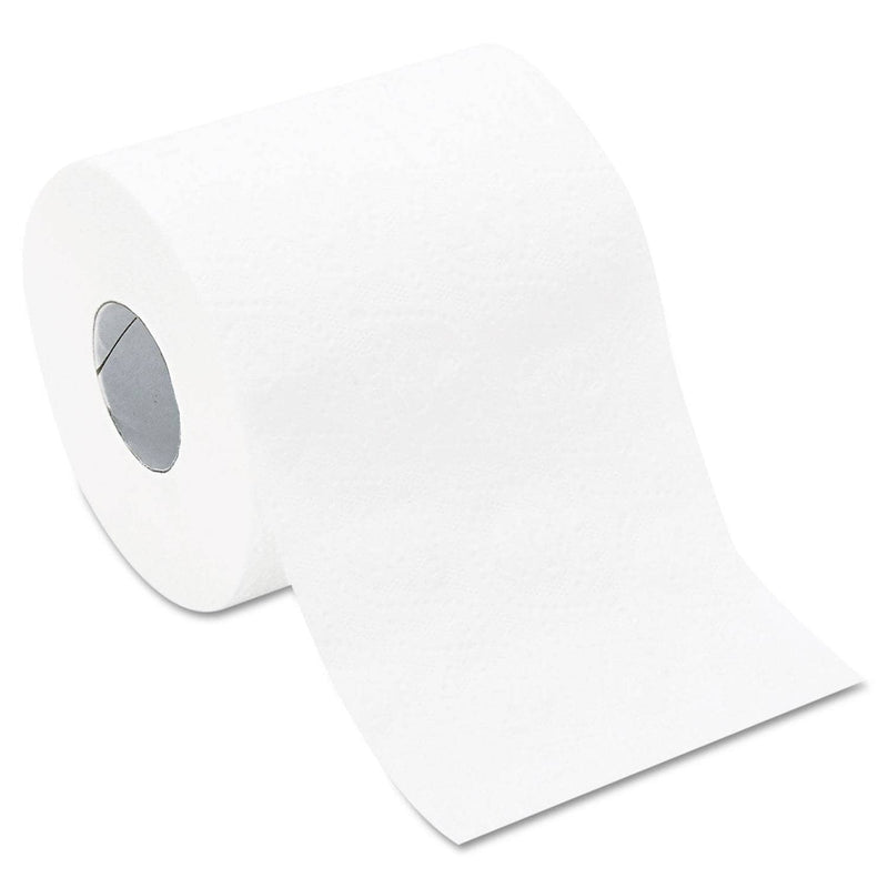 GEN Bath Tissue, Septic Safe, 2-Ply, White, 420 Sheets/Roll, 96 Rolls/Carton - GEN800 - TotalRestroom.com