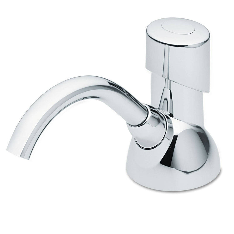 "Gojo Cx Counter Mount Foam Soap Dispenser, 1500 Ml/2300 Ml, 4.5"" X 11.88"" X 4.5"", Chrome - GOJ850001 - TotalRestroom.com"