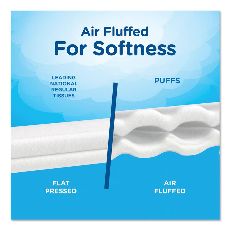 Puffs Ultra Soft Facial Tissue, 2-Ply, White, 56 Sheets/Box, 24 Boxes/Carton - PGC35038 - TotalRestroom.com