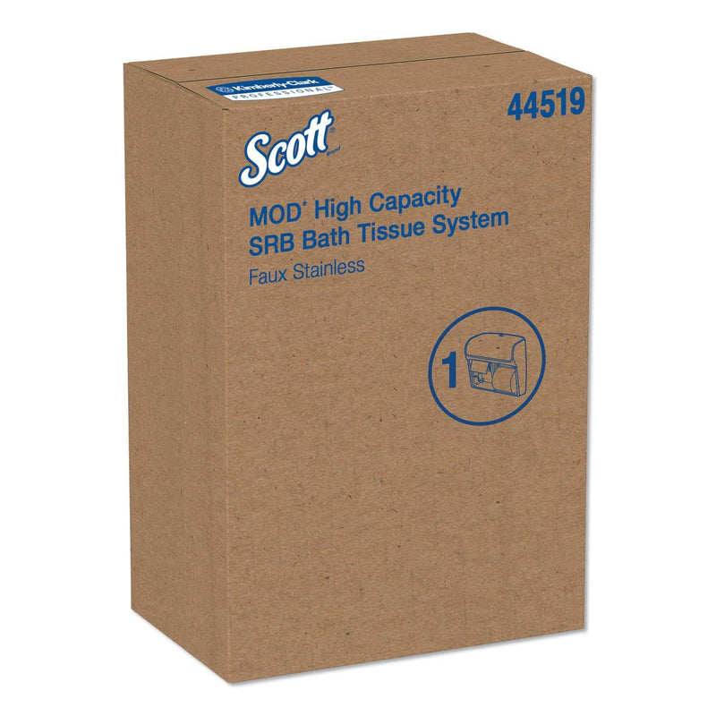 Scott Pro High Capacity Coreless Srb Tissue Dispenser,11 1/4 X 6 5/16 X 12 3/4,Faux Ss - KCC44519