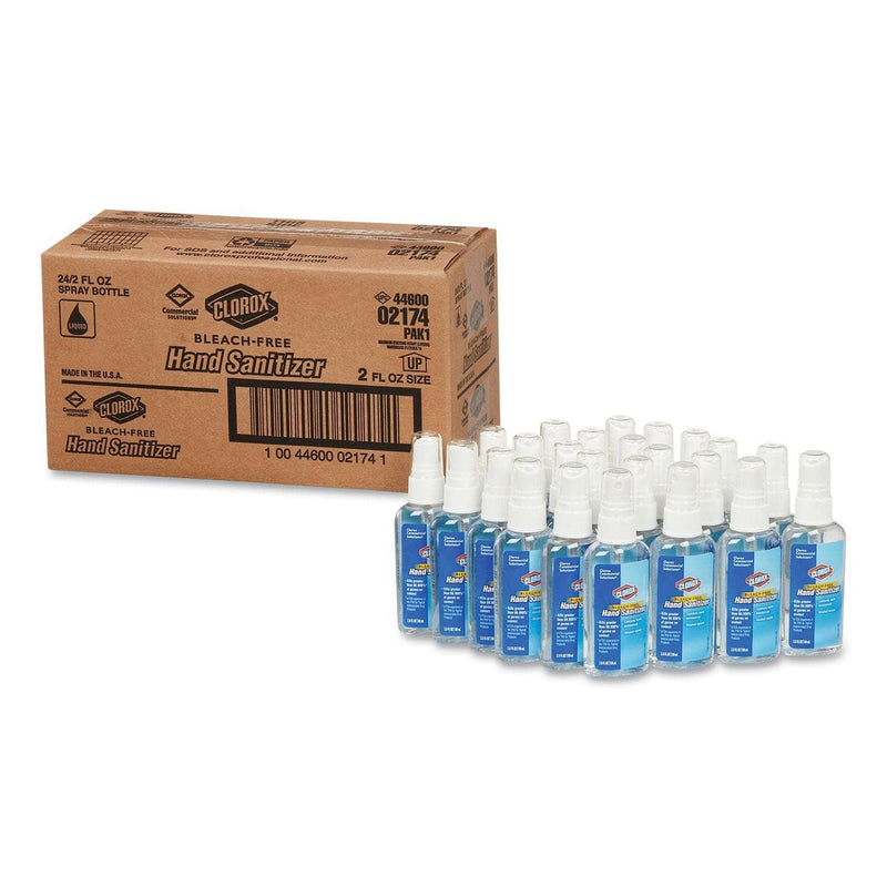 Clorox Hand Sanitizer, 2 Oz Spray, 24/Carton - CLO02174 - TotalRestroom.com