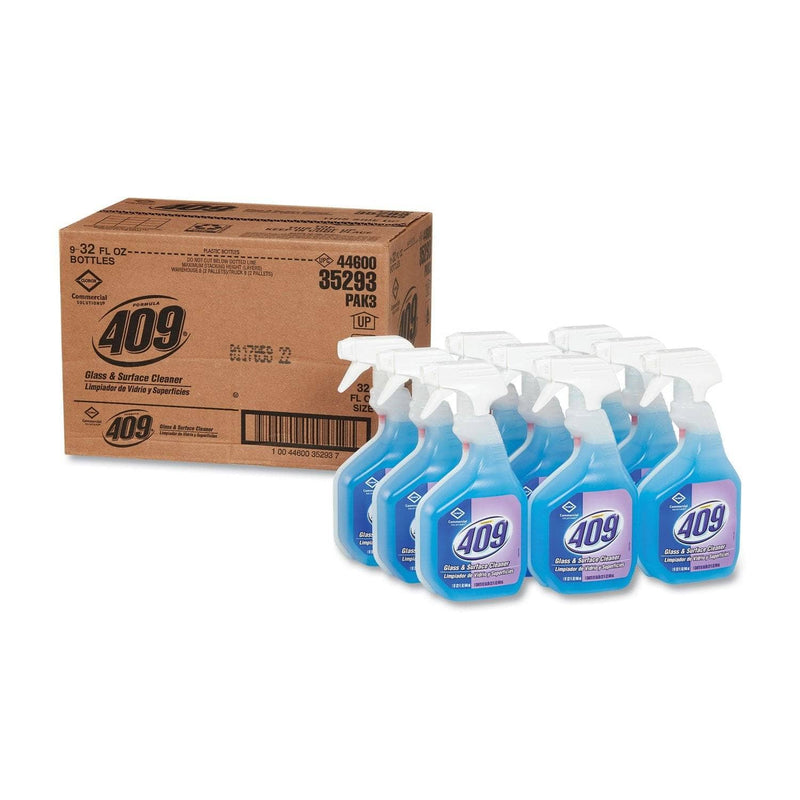 Formula 409 Glass & Surface Cleaner, Spray, 32 Oz, 9/Carton - CLO35293CT - TotalRestroom.com