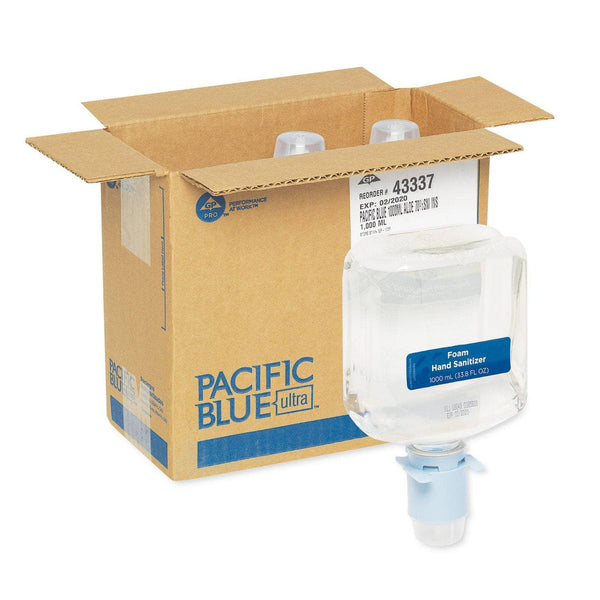 Georgia Pacific Pacific Blue Ultra Automated Sanitizer Dispenser Refill, 1000 Ml Bottle, 3/Ct - GPC43337