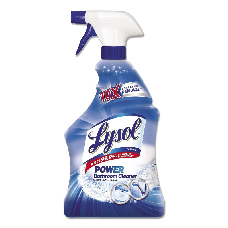 Lysol Disinfectant Bathroom Cleaners, Liquid, 32Oz Bottle, 12/Carton - RAC02699CT - TotalRestroom.com