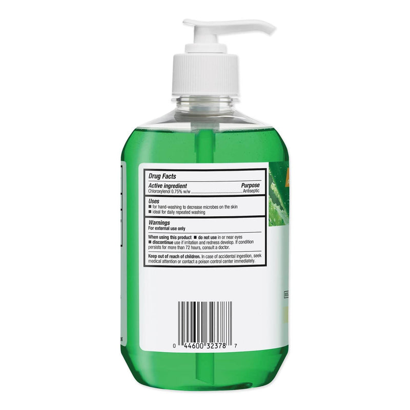 Clorox Healthcare Antimicrobial Soap, Antibacterial Protection, Aloe Scent, 18 oz Pump Bottle, 12/Carton - CLO32378 - TotalRestroom.com