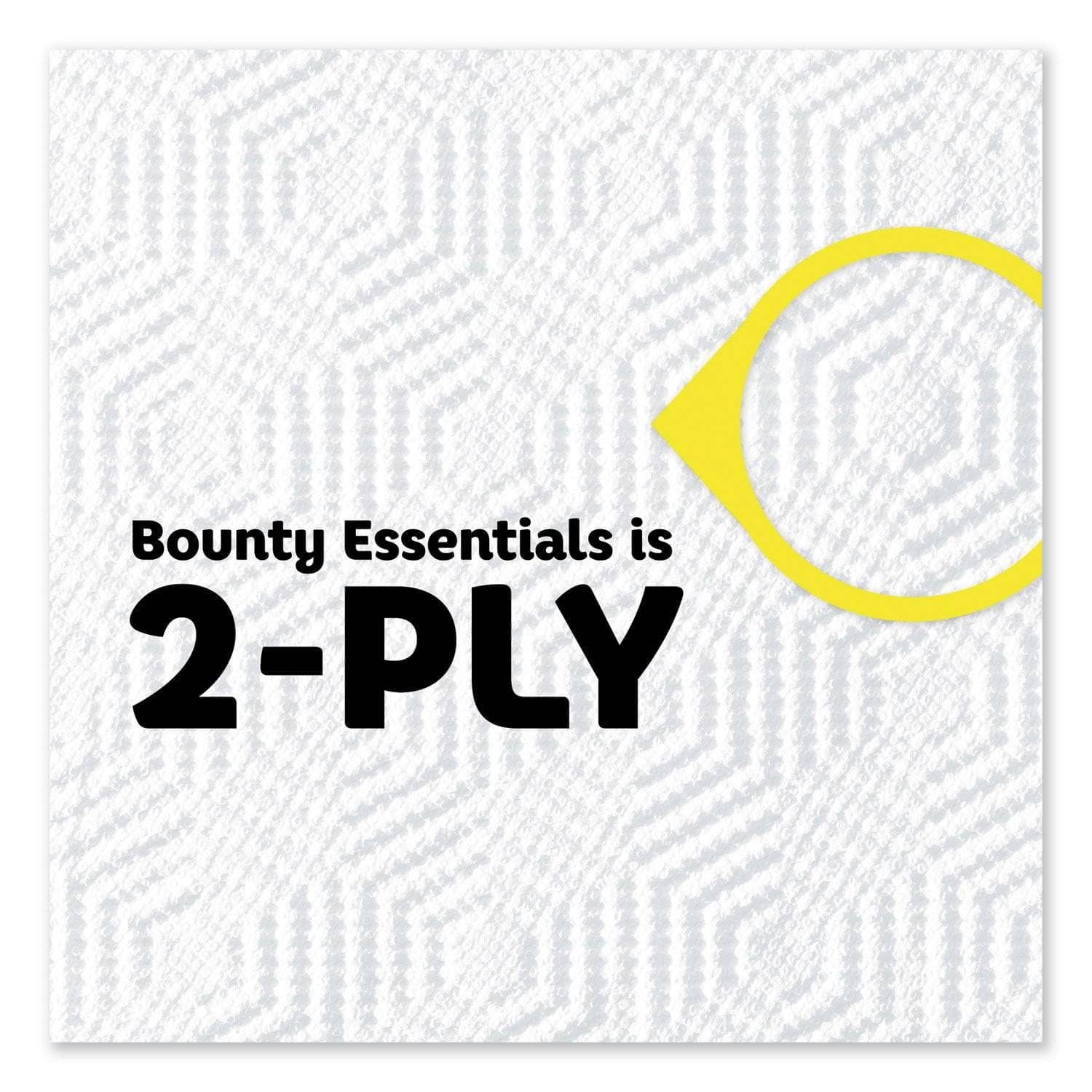 Bounty Essentials Paper Towels, 40 Sheets/Roll, 30 Rolls/Carton - PGC74657 - TotalRestroom.com