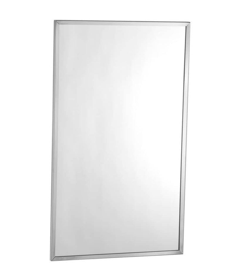 Bobrick B-165 4836 Channel-Frame Mirror 48x36