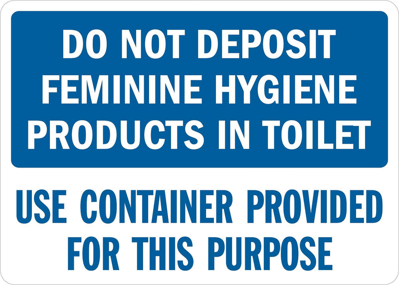 Lyle Safety Sign, 14x10 In., English - U1-1051-RD_14X10 - TotalRestroom.com