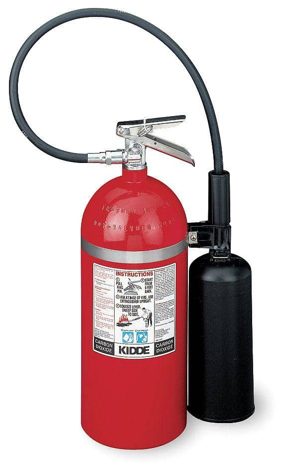 Kidde Carbon Dioxide Fire Extinguisher with 20 lb. Capacity - TotalRestroom.com