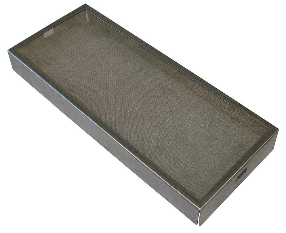"Xlerator 3-1/4"" x 13/16"" x 7-3/4"" Metal Mesh Replacement Pr - TotalRestroom.com"
