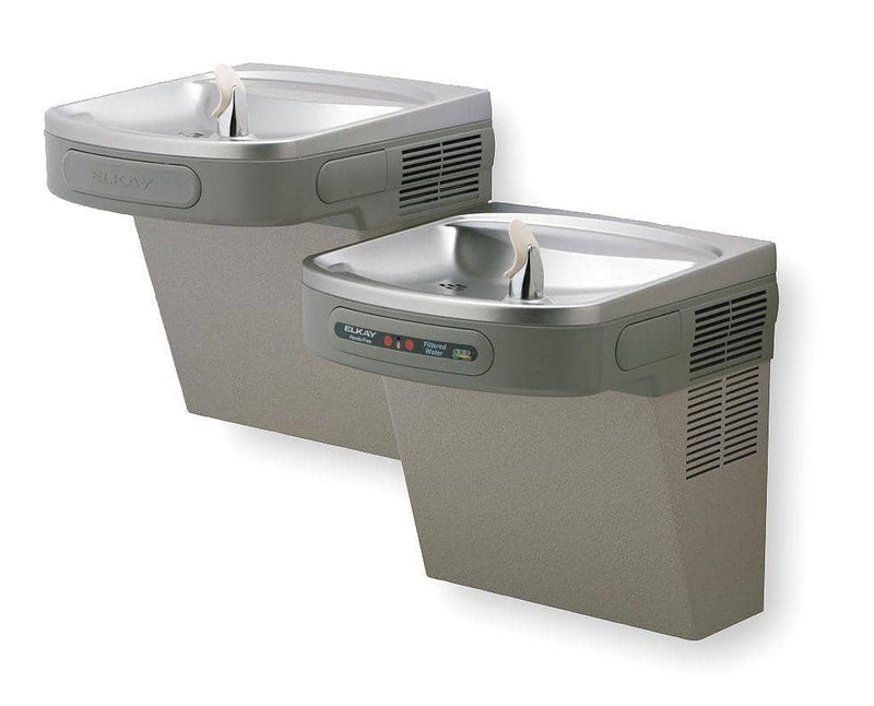 Elkay Light Gray Granite Electronic Sensor/Pushbar Water Co - TotalRestroom.com