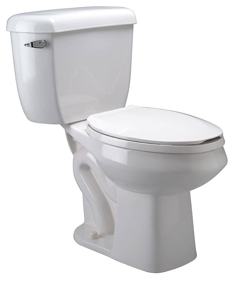 Zurn ZZ5572 EcoVantage Two Piece Tank Toilet, 1.0/1.6 Gallons per Flush - TotalRestroom.com