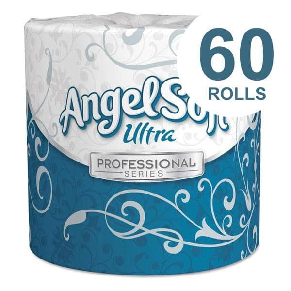 Georgia-Pacific Angel Soft Ps Ultra 2-Ply Premium Bathroom Tissue, Septic Safe, White, 400 Sheets Roll, 60/Carton - GPC16560