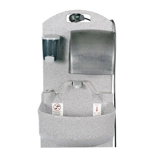 PolyJohn Portable Hand Washing Sink, Heated Water, GrandStand PSW1-2100, Replaced w/ the PSW3-2000