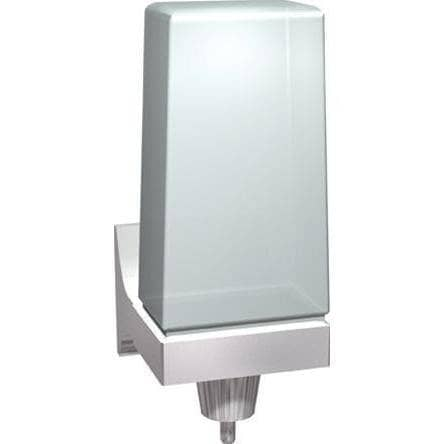 ASI 0356 Commercial Soap Dispenser, Surface-Mounted, Manual-Push, Plastic-Total Restroom