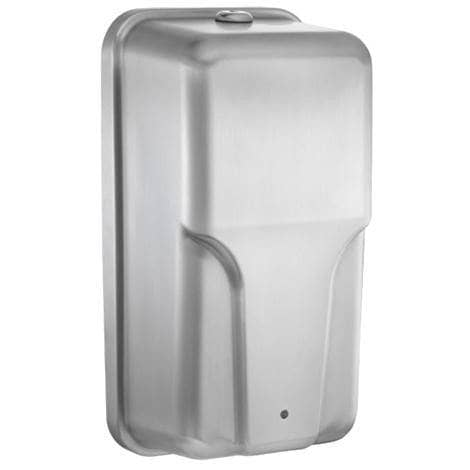 ASI 20364 Commercial Liquid Soap Dispenser, Surface-Mounted, Touch-Free, Stainless Steel - 34 Oz - TotalRestroom.com