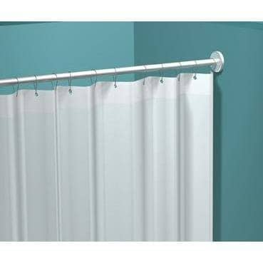 "ASI 1200-V36 Commercial Shower Curtain, 36"" Width x 72"" Height, Vinyl-Total Restroom"