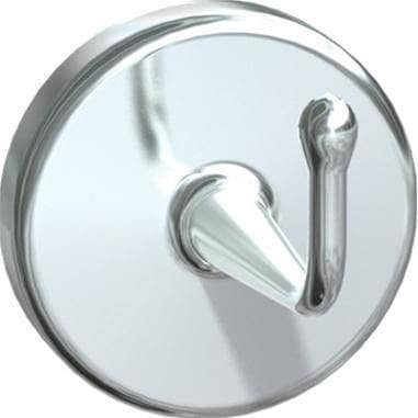ASI 0751-A Heavy Duty Robe Hook, Brass w/ Chrome Finish - TotalRestroom.com