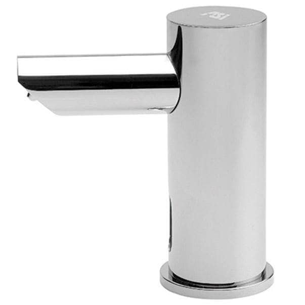 "ASI 10-0390-6-1AC EZ-Fill Individual Counter Mout Liquid Soap Dispenser Head, Top-Fill, Plug-In Operated, 6 Pack - 2.25"" Spout Length - TotalRestroom.com"