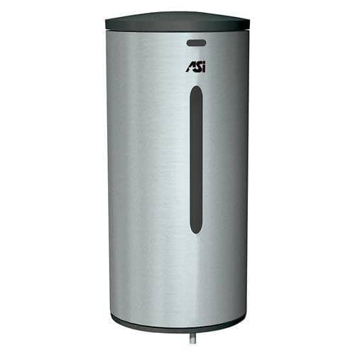 ASI 0360 Commercial Liquid Soap Dispenser, Surface-Mounted, Touch-Free, Stainless Steel - 35 Oz - TotalRestroom.com
