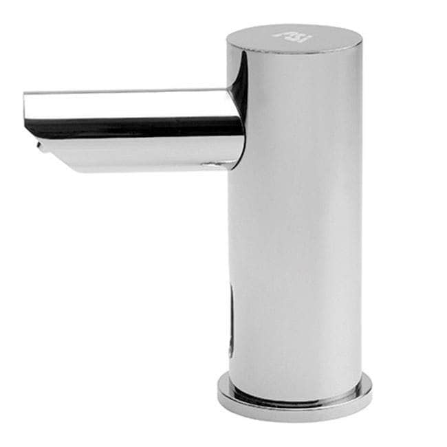 "ASI 10-0390-6-1A EZ-Fill Individual Counter Mount Liquid Soap Dispenser, Top-Fill, Battery Operated, 6 Pack - 2.25"" Spout Length - TotalRestroom.com"