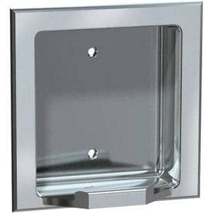 ASI 7404-B Commercial Bar Soap Dish, Recessed-Mounted, Stainless Steel w/ Bright-Polished Finish - TotalRestroom.com