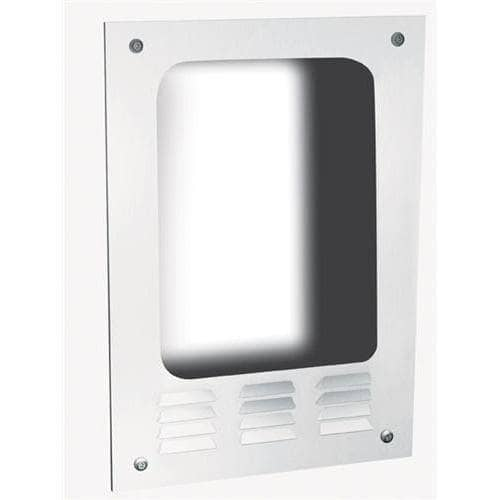 ASI 0119 Hand Dryer Mounting Box, Semi-Recessed-Mounting, Stainless Steel - TotalRestroom.com