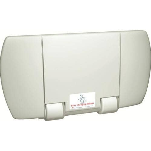 ASI 9012 Baby Changing Station, Surface-Mounted, Plastic-Total Restroom
