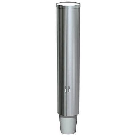 ASI 0002-SM Commercial Paper Cup Dispenser, Surface-Mounted, Stainless Steel - TotalRestroom.com