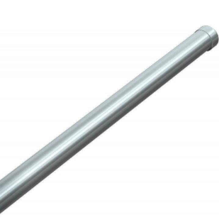 "ASI 1224-C18 Heavy-Duty Shower Curtain Rod, 1"" Diameter x 18"" Length, Stainless Steel - TotalRestroom.com"