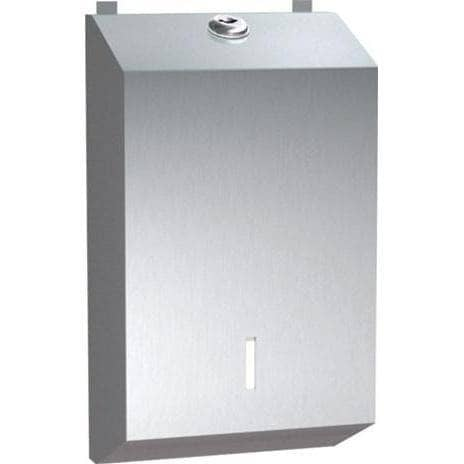 ASI 0262 Commercial Toilet Paper Dispenser, Surface-Mounted, Stainless Steel - TotalRestroom.com