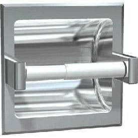 ASI 7402-SSM Commercial Toilet Paper Dispenser, Surface-Mounted, Stainless Steel w/ Satin Finish - TotalRestroom.com