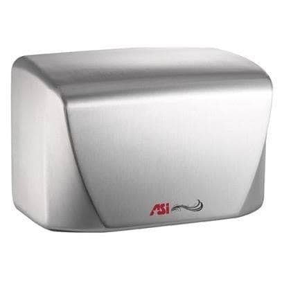 ASI 0198-2-93 Automatic Hand Dryer, 220-240 Volt, Surface-Mounted, Stainless Steel - TotalRestroom.com