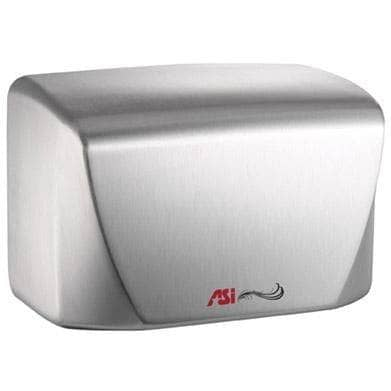 ASI 0198-1-93 Hand Dryer, 110-120 Volt, Surface-Mounted, Stainless Steel - TotalRestroom.com