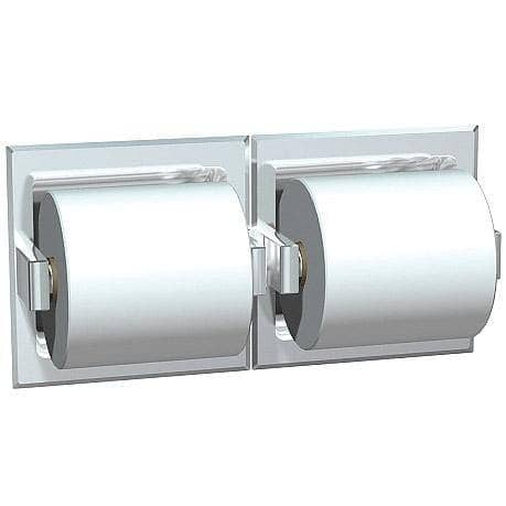 ASI 74022-S-D Commercial Toilet Paper Dispenser, Recessed-Mounted, Stainless Steel w/ Satin Finish - TotalRestroom.com