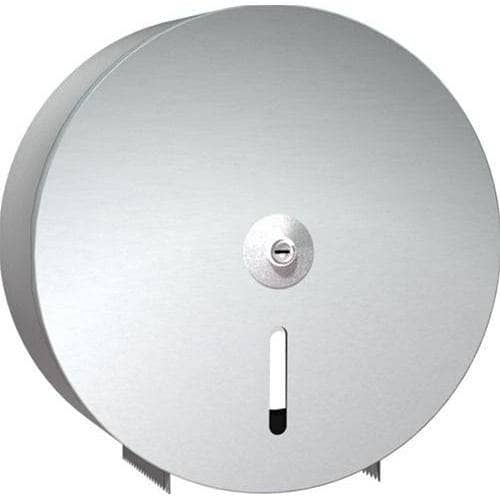 ASI 0042 Commercial Toilet Paper Dispenser, Surface-Mounted, Stainless Steel w/ Satin Finish - TotalRestroom.com