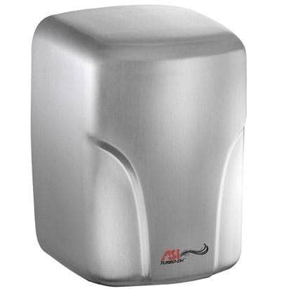 ASI 0197-2-93 Automatic Hand Dryer, 220-240 Volt, Surface-Mounted, Stainless Steel - TotalRestroom.com