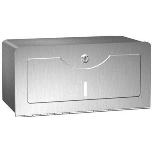 ASI 0245-SS Commercial Paper Towel Dispenser, Surface-Mounted, Stainless Steel - TotalRestroom.com