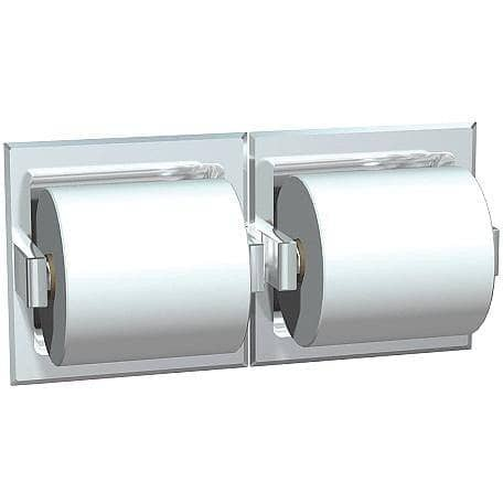 ASI 74022-BSM-W Commercial Toilet Paper Dispenser, Surface-Mounted, Stainless Steel w/ Bright-Polished Finish - TotalRestroom.com