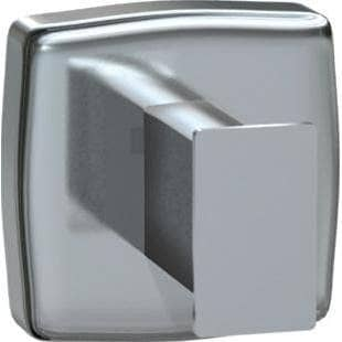 ASI 7340-S Commercial Restroom Single Robe Hook, Stainless Steel w/ Satin Finish - TotalRestroom.com