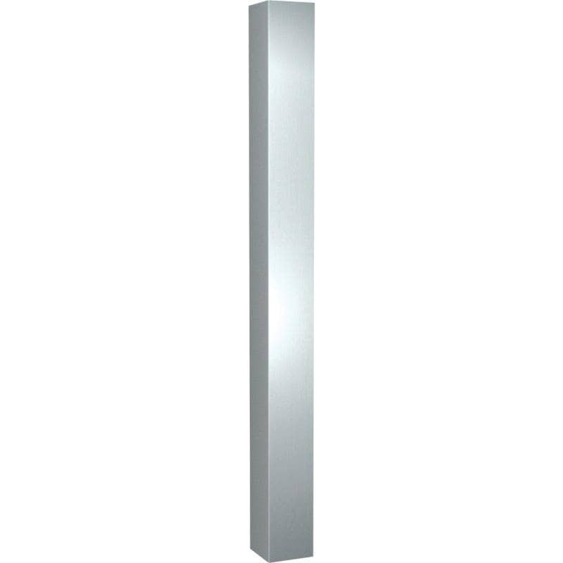 "ASI 0533-48 Commercial Corner Guard, 4-1/4"" W x 4-1/4"" D x 48 H"", Stainless Steel - TotalRestroom.com"