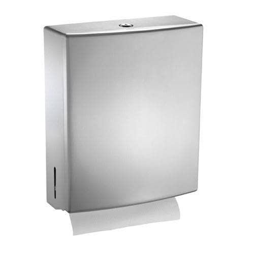 ASI 20210 Commercial Paper Towel Dispenser, Roval-Surface-Mounted, Stainless Steel - TotalRestroom.com
