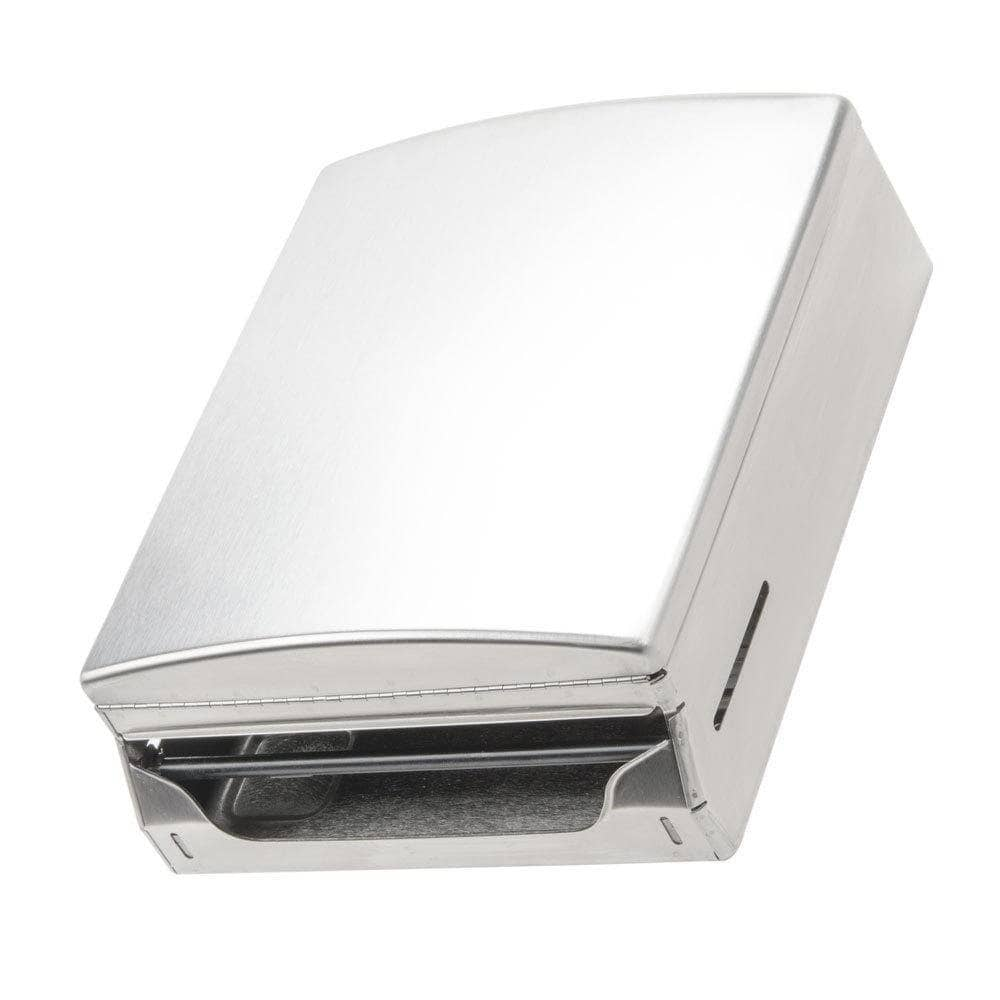 Bobrick B-4262 Commercial Paper Towel Dispenser, Surface-Mounted, Stainless Steel - TotalRestroom.com