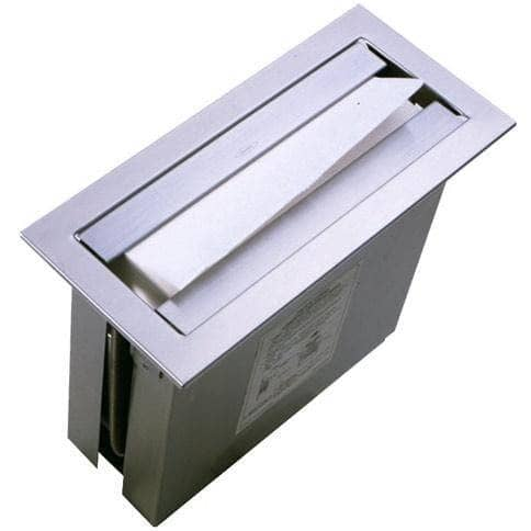 Bobrick B-526 Commercial Paper Towel Dispenser, Counter-Top Mounted, Stainless Steel - TotalRestroom.com