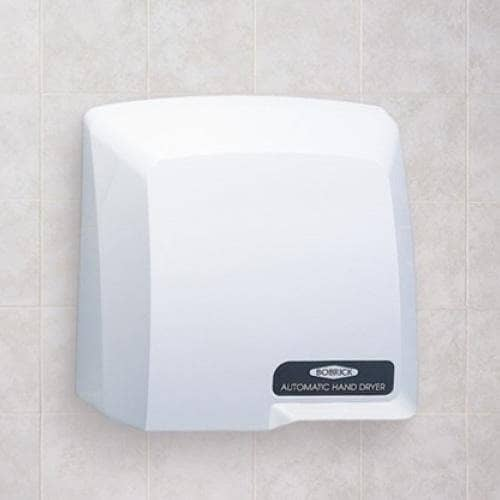 Bobrick B-710 Automatic Hand Dryer, 115 Volt, Surface-Mounted, Plastic - TotalRestroom.com