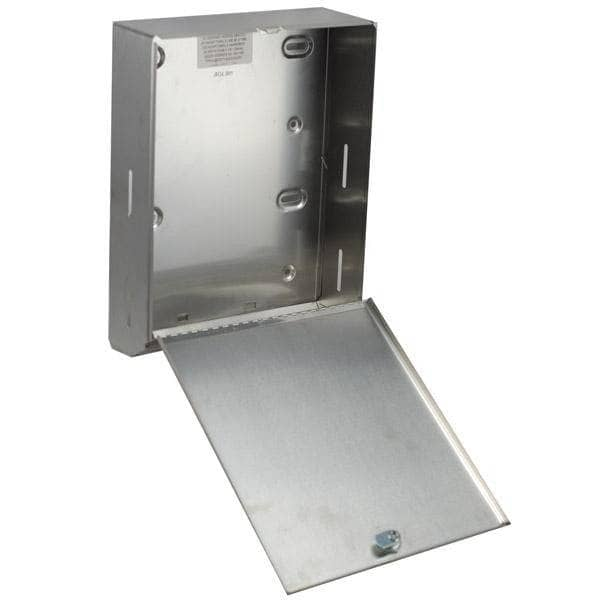 Bobrick B-262 Commercial Paper Towel Dispenser, Surface-Mounted, Stainless Steel - TotalRestroom.com