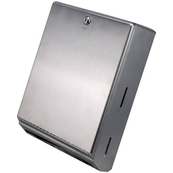 Bobrick B-262 Commercial Paper Towel Dispenser, Surface-Mounted, Stainless Steel