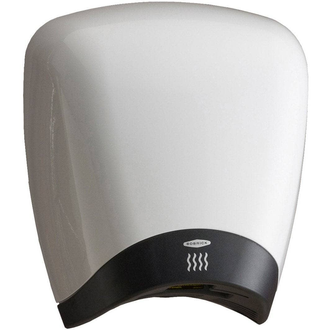 Bobrick B-770 Automatic Touch-Free Hand Dryer, 115 Volt, Surface-Mounted, Aluminum - TotalRestroom.com