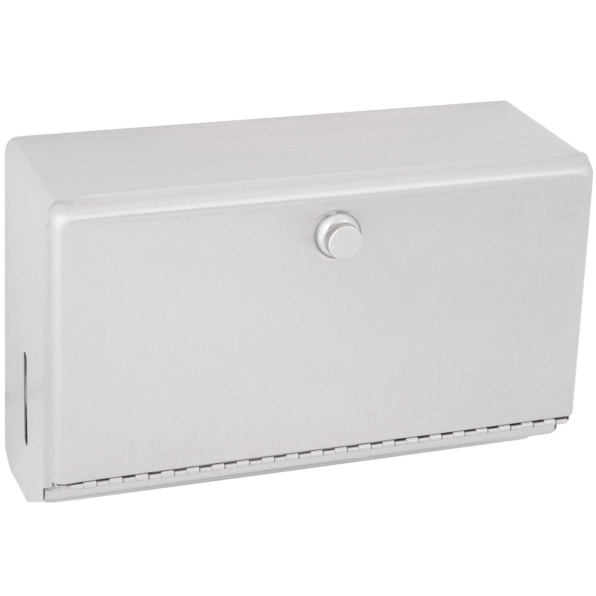 Bobrick B-2621 Commercial Paper Towel Dispenser, Surface-Mounted, Stainless Steel - [product_type] - Bobrick