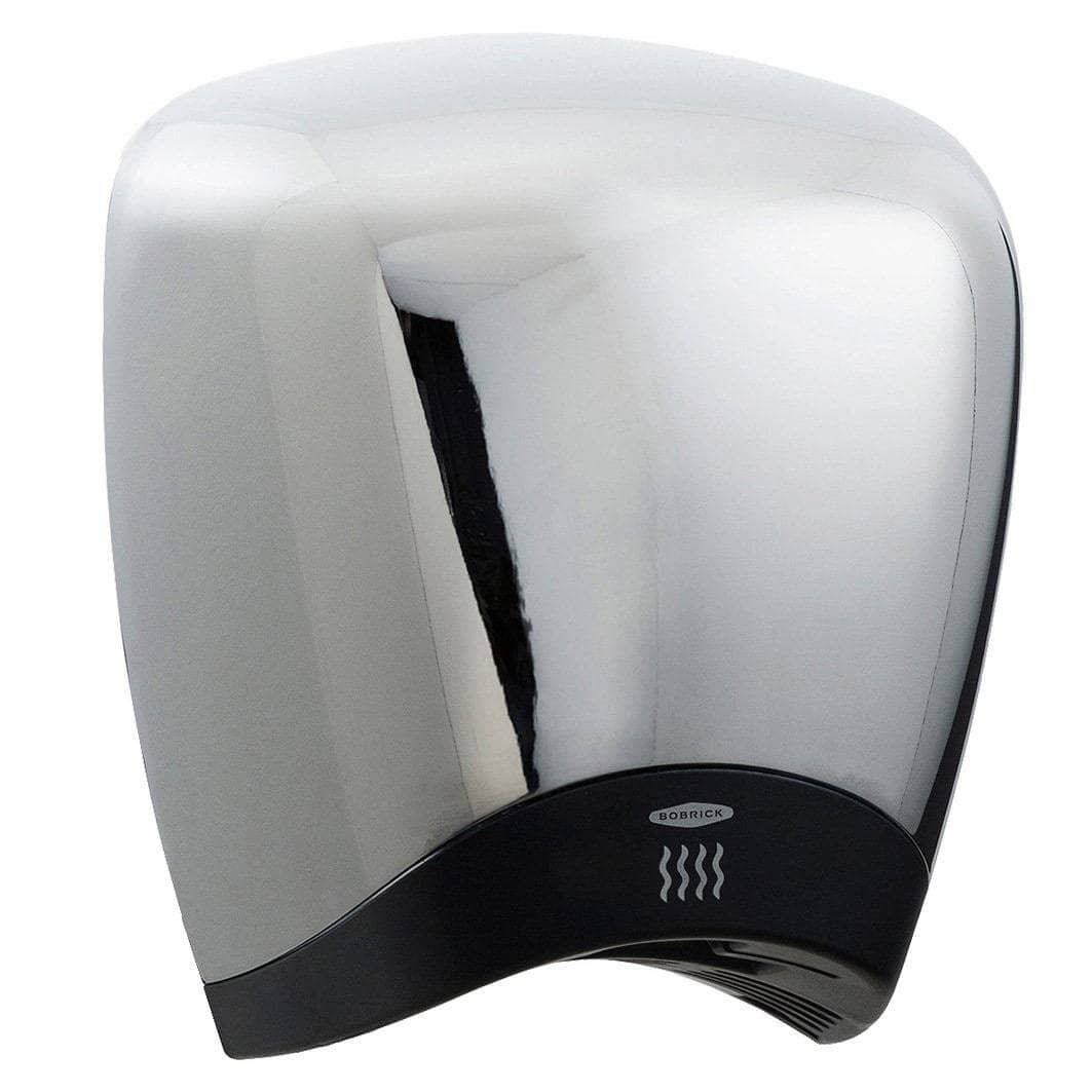 Bobrick B-778 Automatic Touch-Free Hand Dryer, 115 Volt, Surface-Mounted, Aluminum - TotalRestroom.com